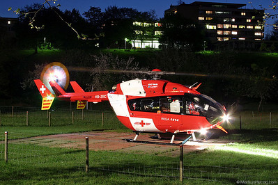 HB-ZRC EC145 Rega @ Bern-Tiefenau Switzerland 11May04