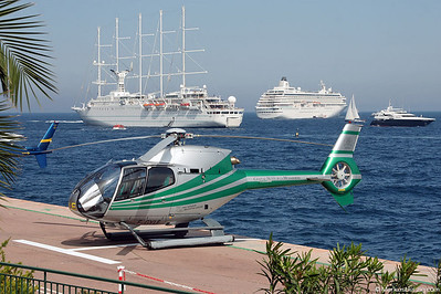F-GYLE EC120B Heli Securite @ Monaco 22May05