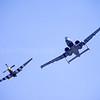 North American P-51 and Fairchild Republic A-10 Thunderbolt ll
