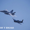 F/A-18 Super Hornet and Grumman F8F Bearcat