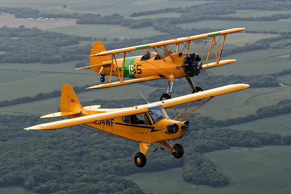 N2S-3 and Legend Cub - Joe and Charlie Beck