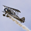Eddie Andreini in his Stearman