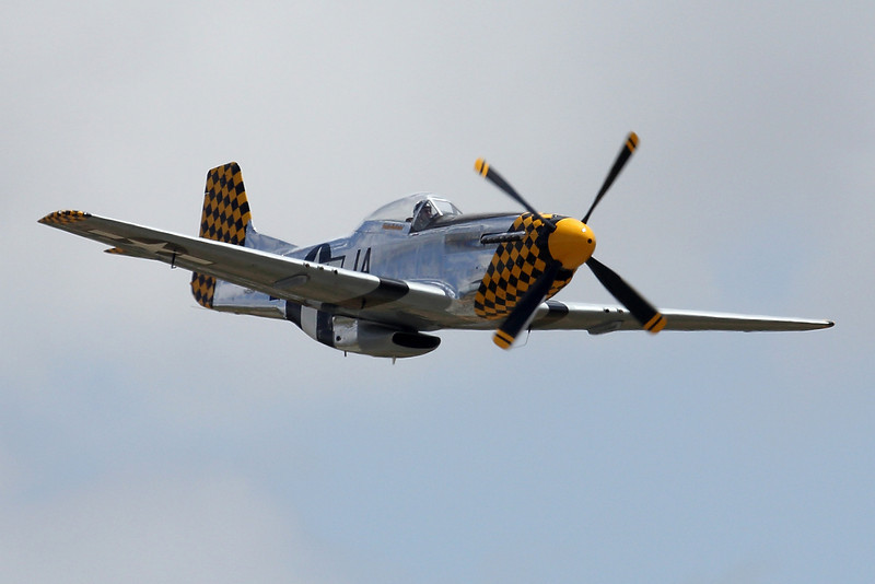 Eddie Andreini's P-51 Mustang N451EA at Hollister CA
