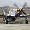 "P-51D Mustang ""Kimberly Kaye"" starting it's engine at Hollister CA, KCVH"