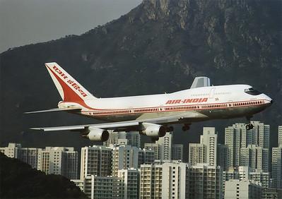 HongKong Kai-Tak Airport February 1998