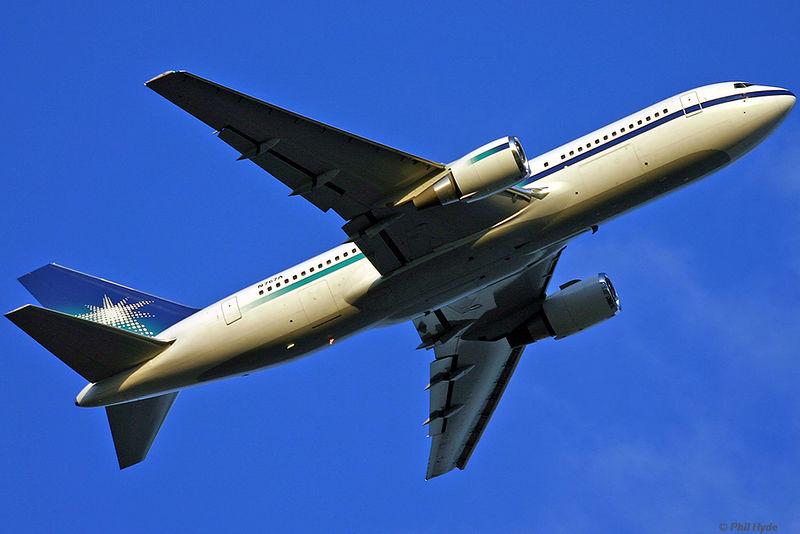 Saudi Aramco 767-200, N767A