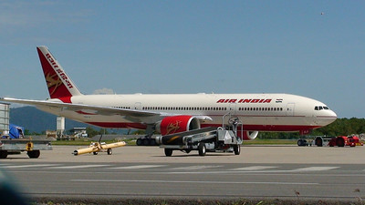 N5017V AIR INDIA B777-200LR ON A TEST FLIGHT TO CAIRNS . NOW IS VT-ALA
