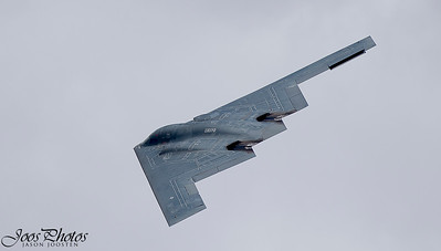 B-2 fly by