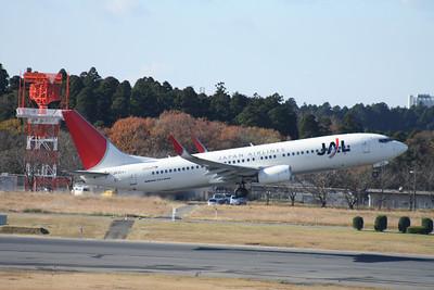 JA304J JAPAN AIRLINES 737-800