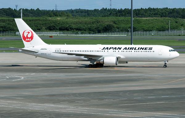 JA609J JAPAN AIRLINES B767-300
