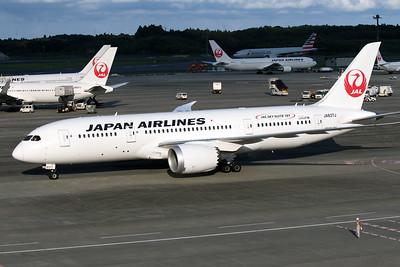 JA837J JAPAN AIRLINES B787-8