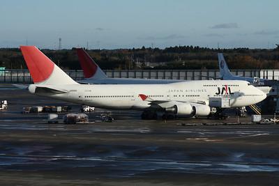 JA8901 JAPAN AIRLINES 747-400