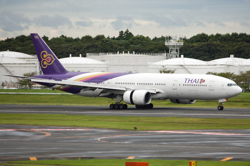 Thai Airways International Boeing 777-200 HS-TJC