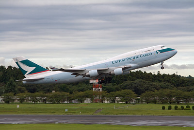Cathay PAcific Cargo Boeing 747-400F B-KAI
