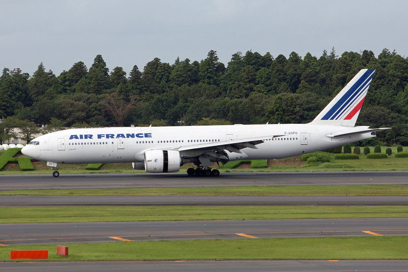 Air France Boeing 777-200 F-GSPO