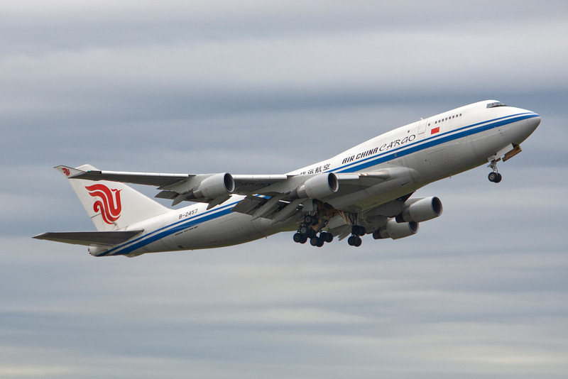 Air China Cargo Boeing 747-400F B-2457