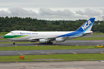 Nippon Cargo Airlines Boeing 747-400F JA04KZ