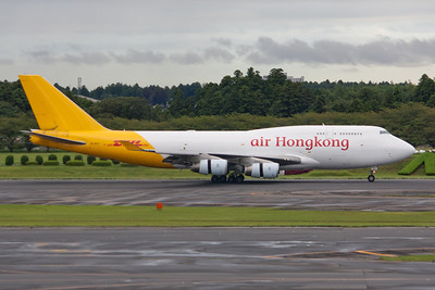 Air Hong Kong Boeing 747-400F B-HOU