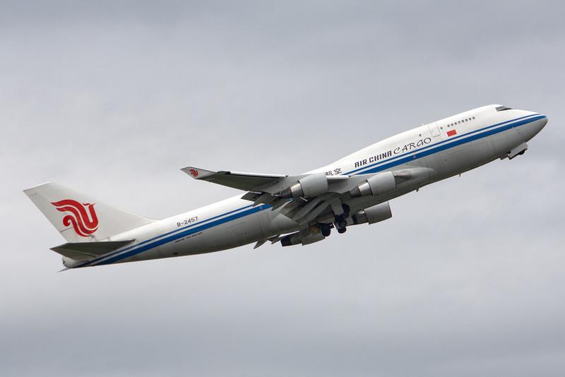Air China Cargo Boeing 747-400F B-2457