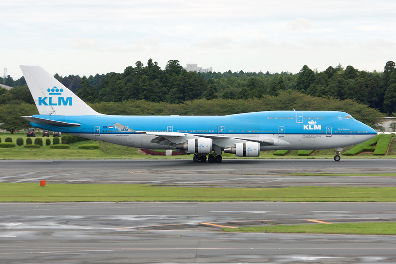 KLM Royal Dutch Airlines Boeing 747-400 PH-BFE
