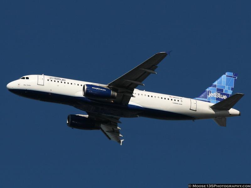 N605JB - Blue Yorker