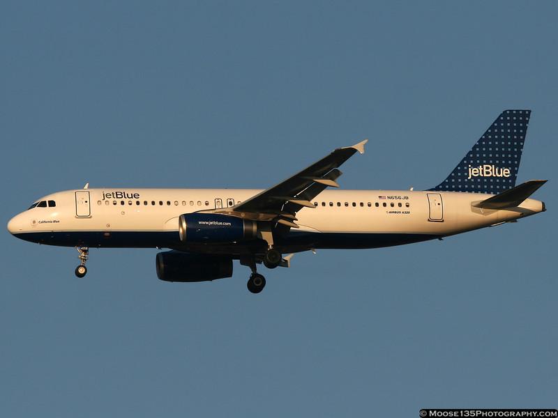 N656JB - California Blue