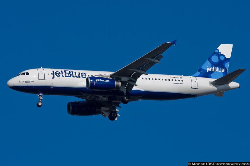 N562JB - The Name is Blue, JetBlue