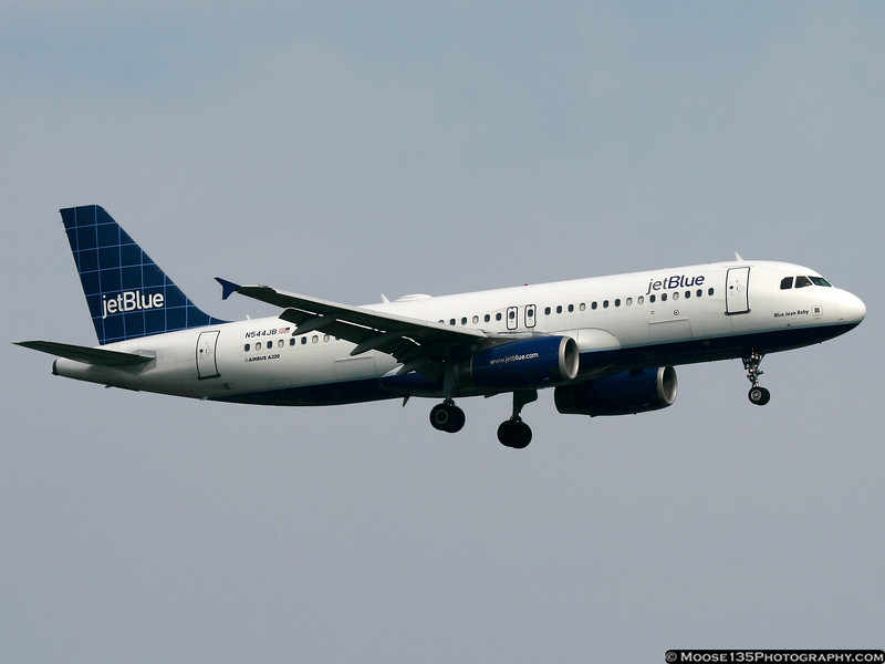 N544JB - Blue Jean Baby (No longer operated by JetBlue)