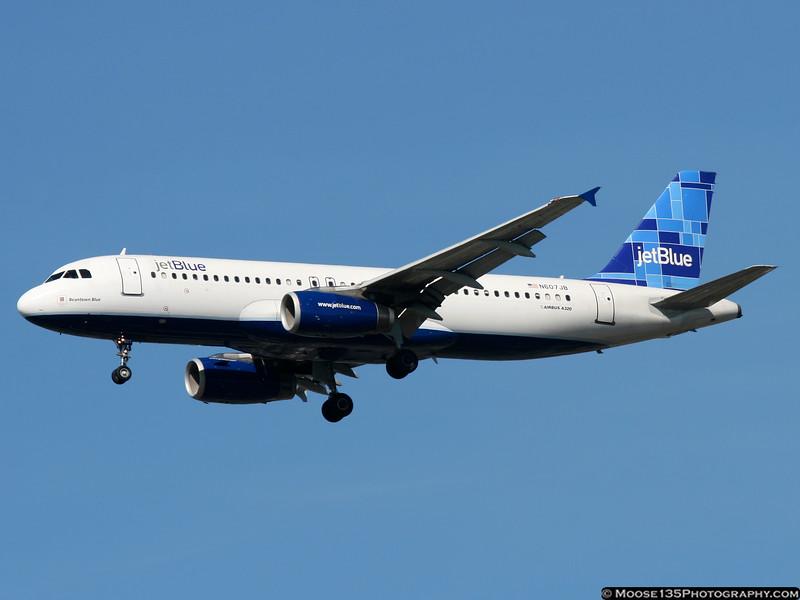 N607JB - Beantown Blue
