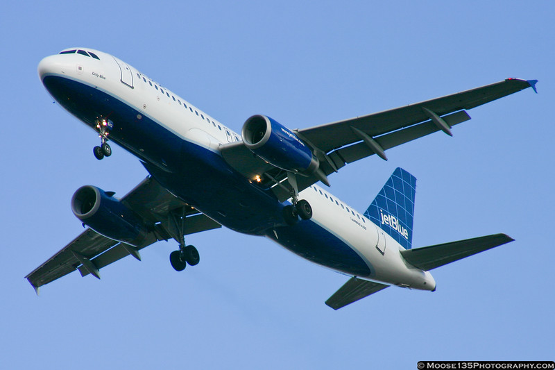 N543JB - Only Blue