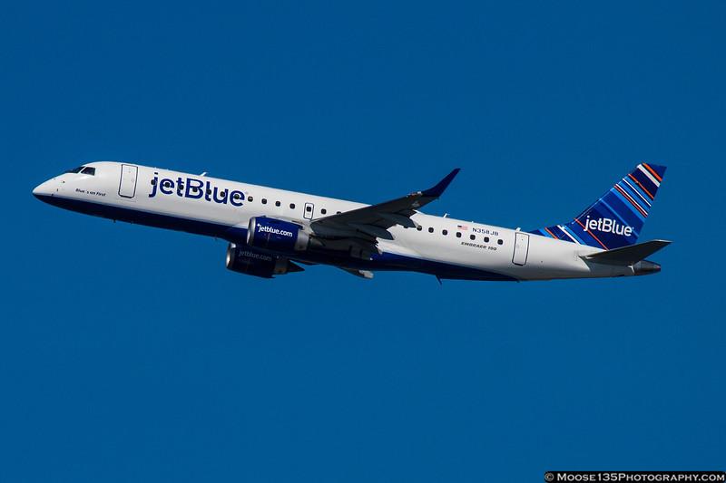 N358JB - Blue's on First