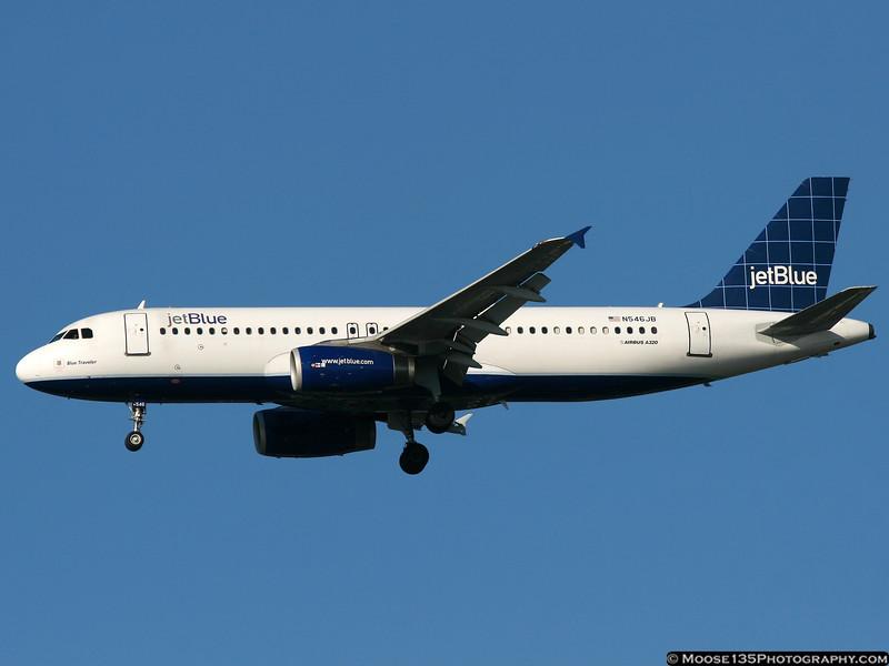 N546JB - Blue Traveler
