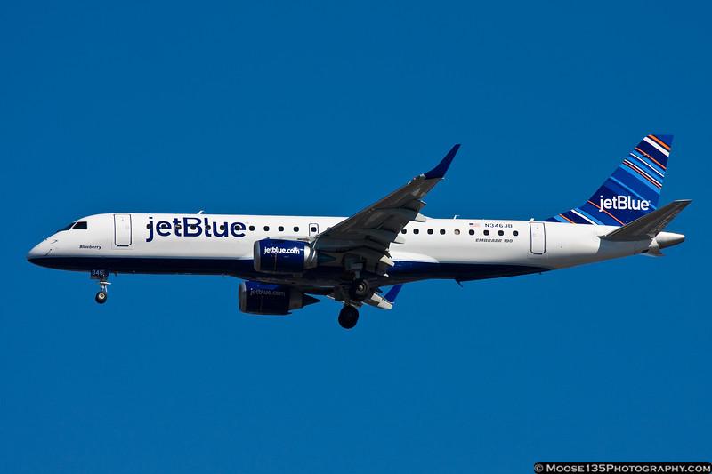 N346JB - Blueberry