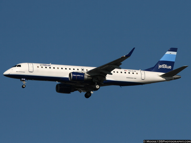N216JB - Blue Getaways