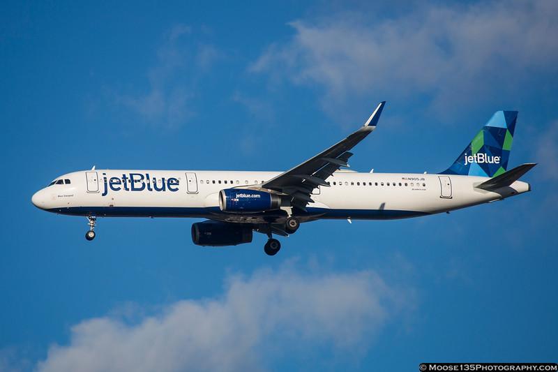 N905JB - Blue Swayed