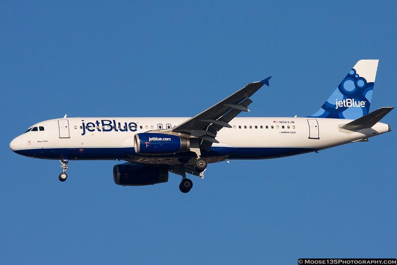 N563JB - Blue Chip