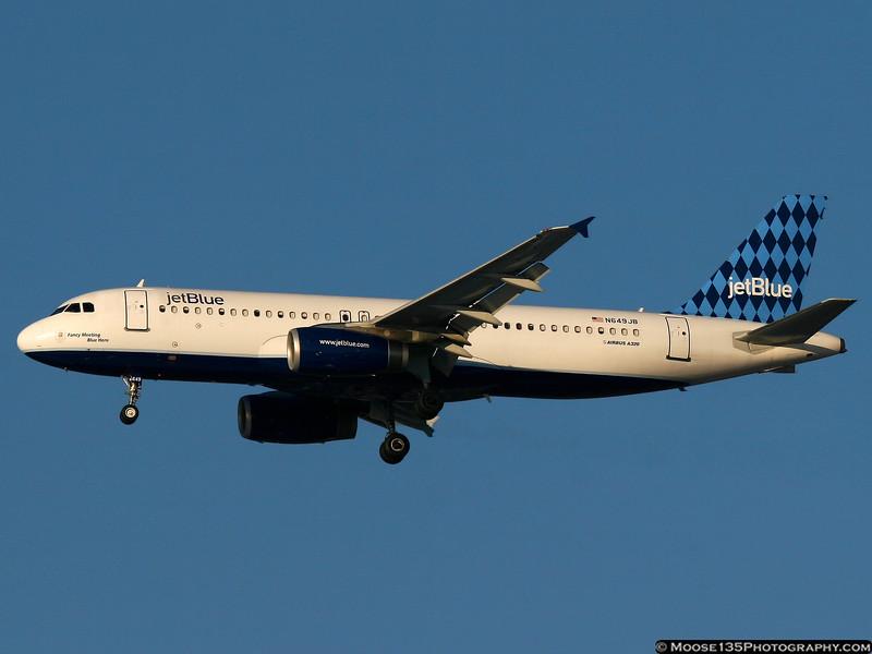 N649JB - Fancy Meeting Blue Here