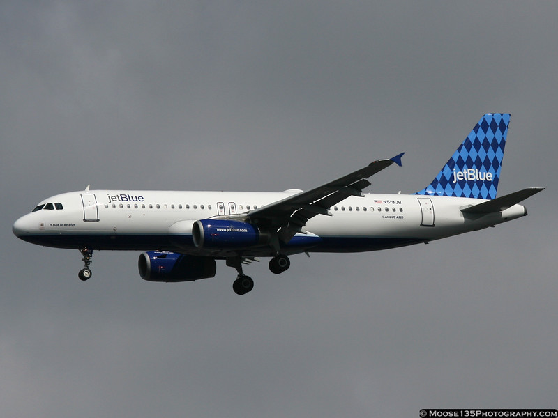 N519JB - It Had To Be Blue