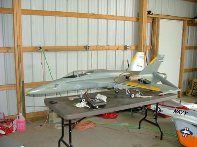 Inside Brauns hangar 3