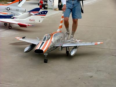 Just a beautiful F-100 Super Sabre