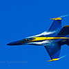 The Blue Angels,  Sea & Sky Spectacular at Jacksonville Beach, Florida.