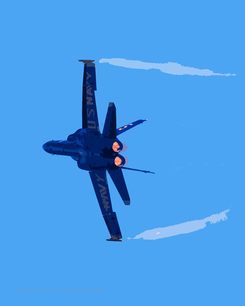 AfterBurners. Blue Angel with CO filters applied.
