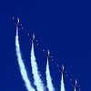 The Blue Angels at the Jacksonville Beach Air Show, 2009.