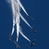 Blue Angels over Jacksonville Beach, Fl.