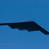 The B2 Stealth Bomber. This US Airforce stealth bomber flew over at the 2009 Sea & Sky Spectacular.