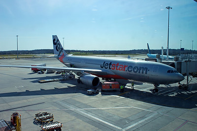 VH-EBF JETSTAR A330-200  MELBOURNE TO SINGAPORE 2013