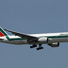 Air Alitalia 777 arriving on 13L