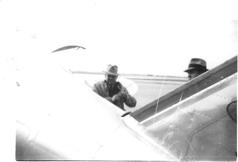 Jimmy Doolittle with Shell Oil's Seversky SEV-DS (NX1291 c/n 42) at Chicago's Midway Airport in 1937.