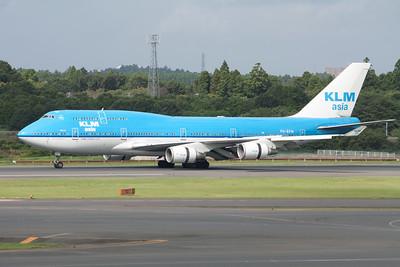 KLM Asia Boeing 747-400 PH-BFM