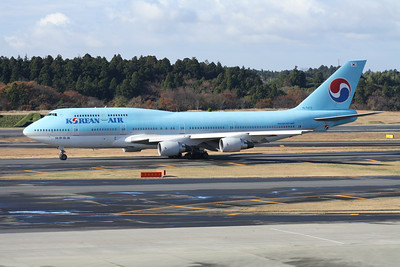 HL7473 KOREAN AIR 747-400